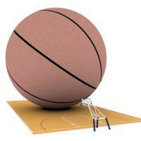 大きなバスケットボール