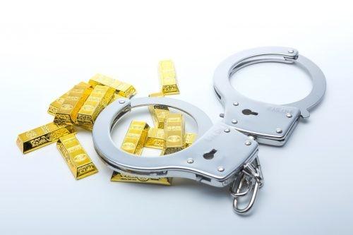 黄金と手錠
